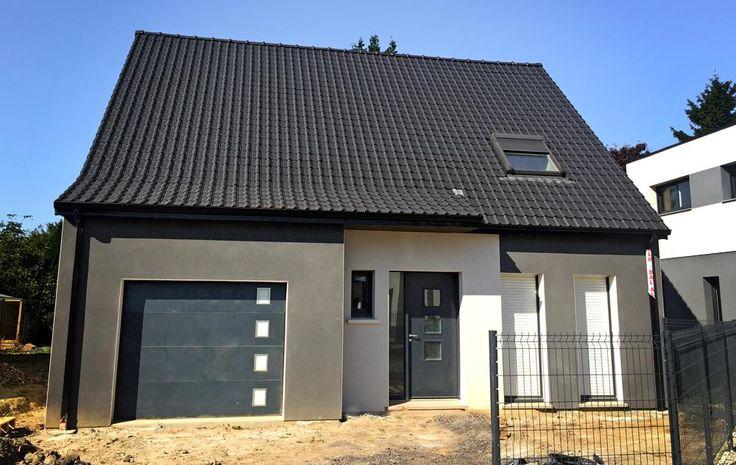 Construction à HARNES (62440) #Habitat #Concept #HabitatConcept #Constructeur #Maison #plan #idée #inspiration