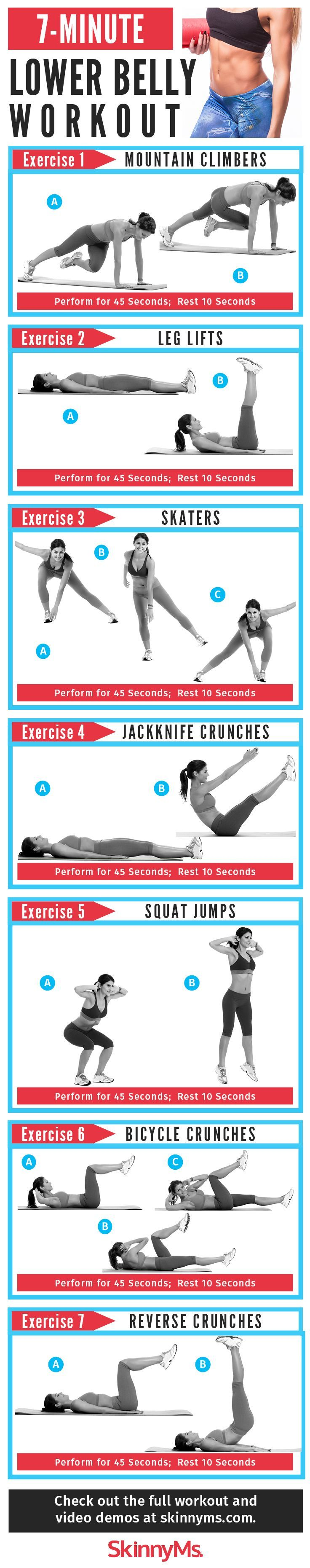 Sculpt your core with this Flat Belly Workout in time for swimsuit season! #Summer #abworkout #workout