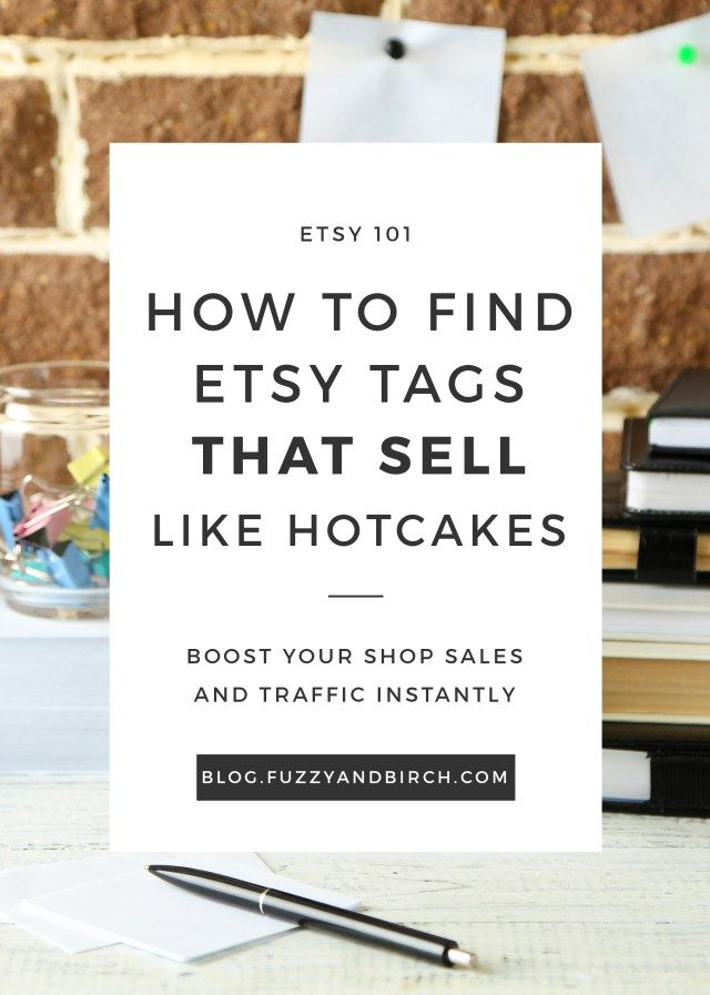 Find Etsy Tags that Sell - Alright. Raise your hand if you have no freakin' clue what SEO is or how to use it. Today we're going to to find the perfect Etsy tags for your shop!