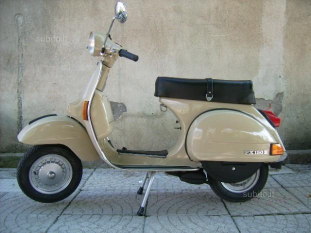 Restored 1983 Vespa P150E