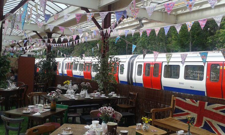 Vintage Steam Train Event: Tea Darling Pop-Up