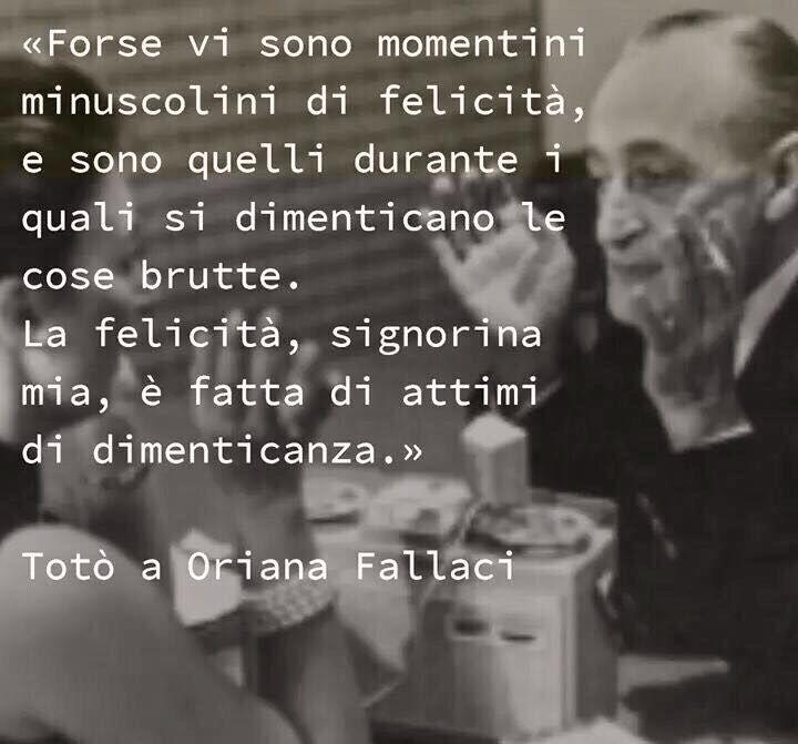 Totò e Oriana Fallaci