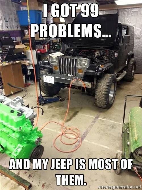 The Truth of all 4X4's not just jeeps! But what can you love without heartache?