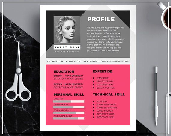 Download Professional Modern Creative  CV/ Resume Template