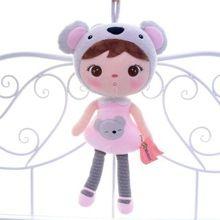 Nieuwe collectie originele metoo van geluk poppen roze koala pluche kids baby poppen speelgoed 16 ''gloednieuwe gratis verzending # ln(China (Mainland))