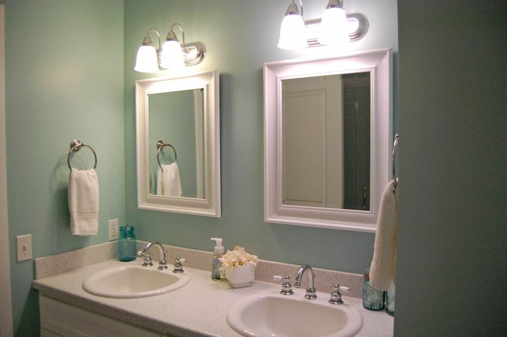 52 best images about sherwin william colors on pinterest for Colorful bathroom mirrors
