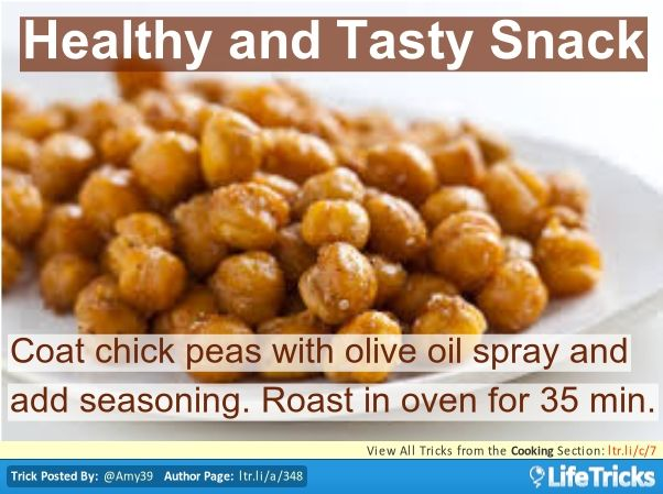 Cooking - Healthy and Tasty Snack