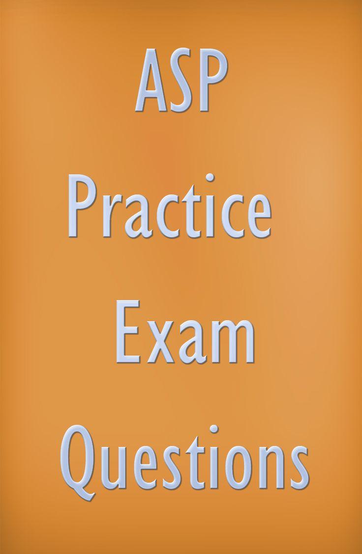 Amazon.com: asp study guide