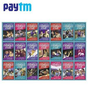 Famous Five Box Set (21 books) @ Rs.1098/-