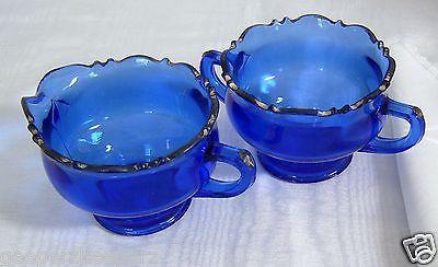 Mt. Pleasant Cobalt Blue Creamer, L. E. Smith Glass Co, 1920's ...