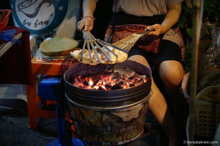 태국 람팡의 명물 야시장, Kad Kong Ta 워킹 스트리트   * 세팍타크로 라이프 :  http://sepaktakraw.life/2353