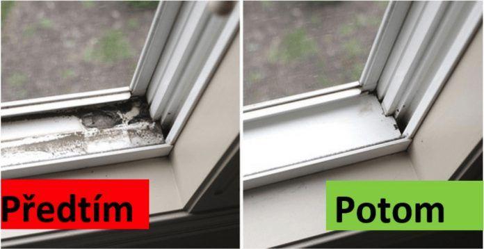ako vyčistiť škáry na plastových oknách