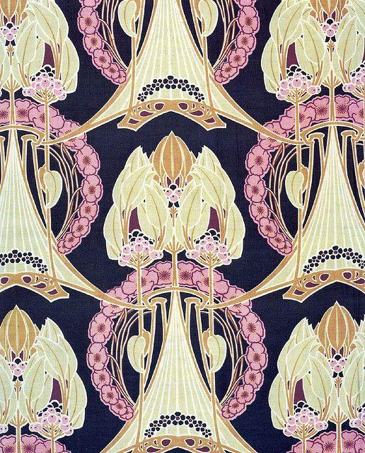 93 best art nouveau wallpapers images on pinterest art for Art nouveau wallpaper uk