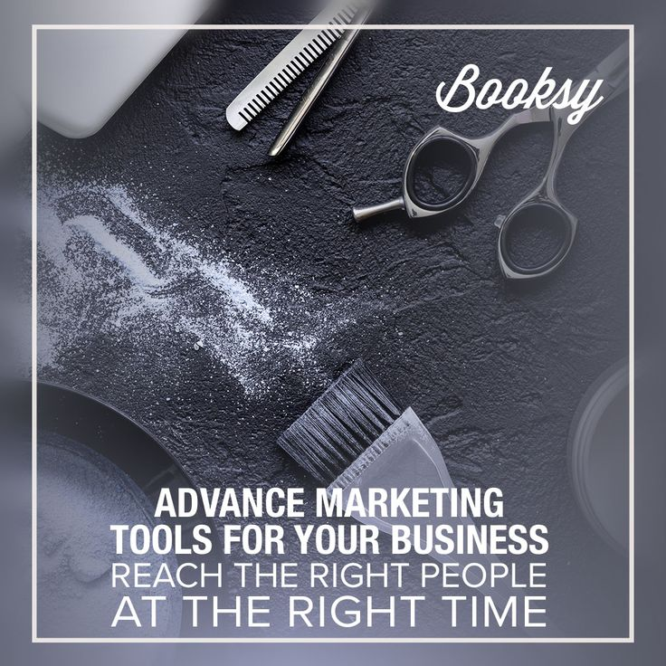 Looking for advance marketing tools? Check out Booksy BIZ and let your clients find you online!