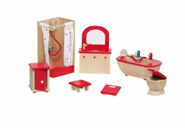 Nábytek pro panenky – koupelna
