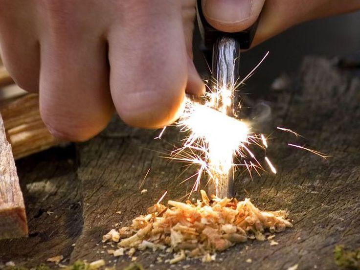 Magnesium Flint Rod Fire Steel Starter @ CrazySales.co.nz | Crazy Deals, Daily Deals, One Day Deals, Grab One Day Deals - Crazy Sales NZ