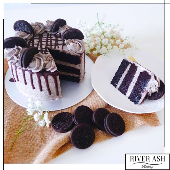 Oreo Cookies n Creme Cake - River Ash Bakery - Cakes and Desserts Singapore