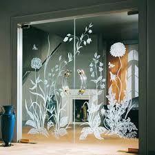 Wooden Glass Partition Design