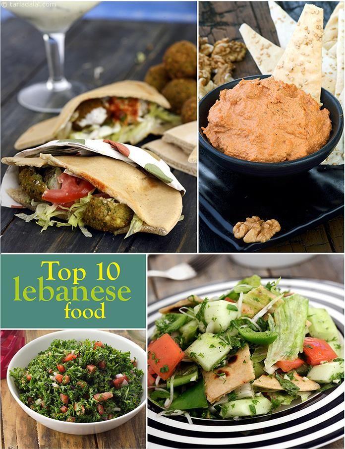 10 best Lebanese Recipes Veg | TarlaDalal.com | #100