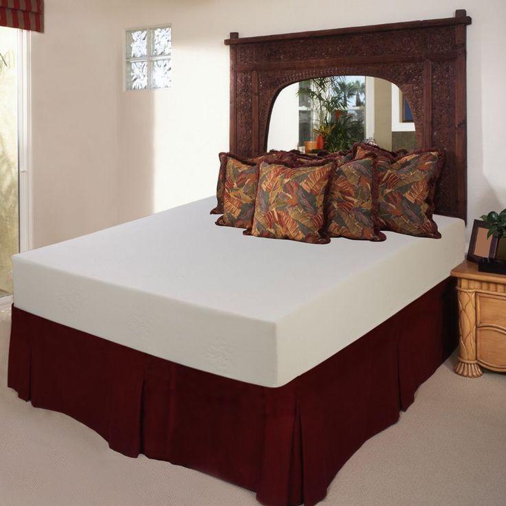 select luxury medium firm 9inch queensize memory foam mattress queen - Tempurpedic Mattress Cost