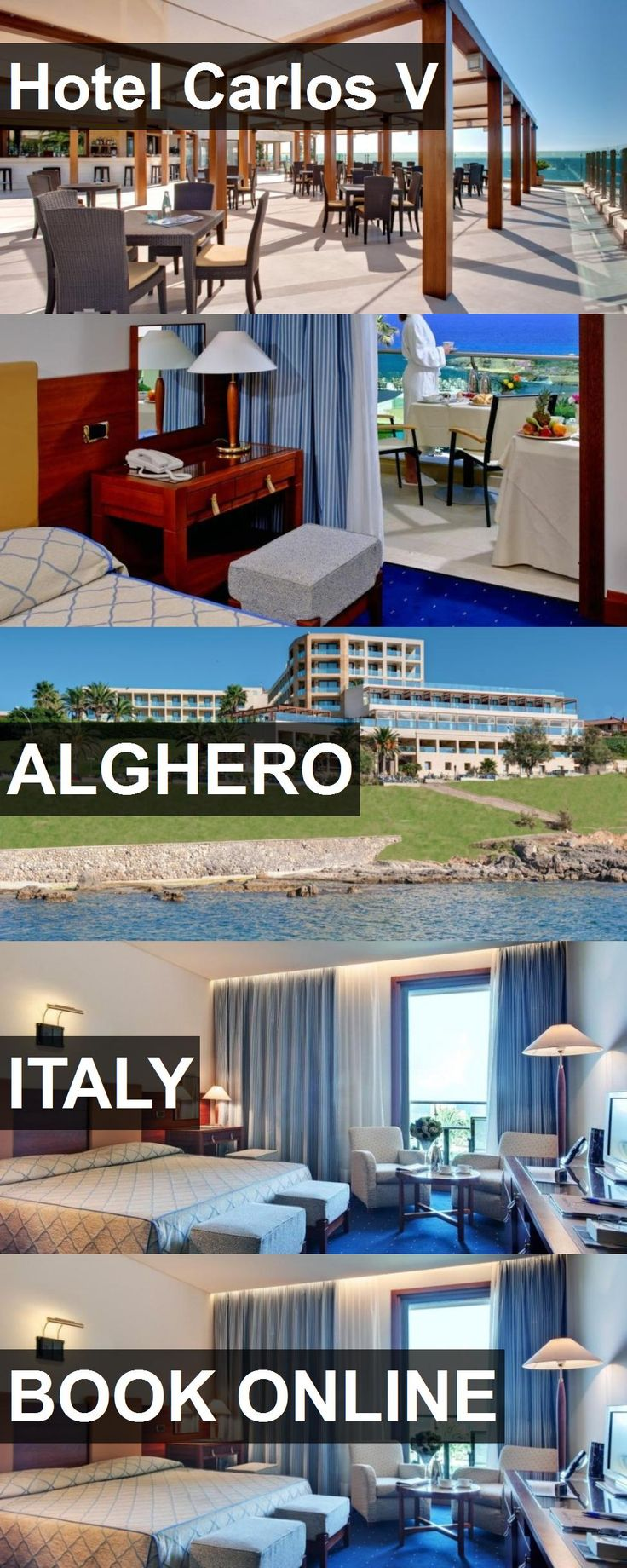 Hotel Hotel Carlos V in Alghero, Italy. For more information, photos, reviews and best prices please follow the link. #Italy #Alghero #HotelCarlosV #hotel #travel #vacation