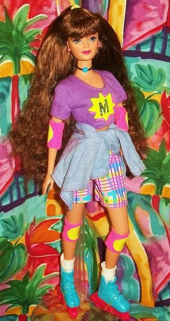 Roller Skating Barbie   eBay
