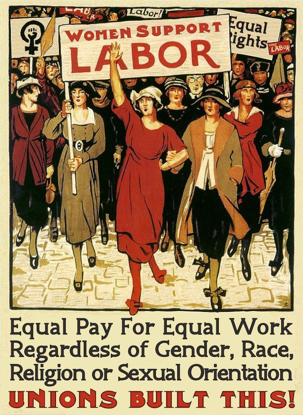 Equal pay has not yet been achieved, and this is the 21st Century!