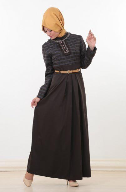 Aramiss Yeni Sezon ürünlerinde fırsatlar devam ediyor.. [ Aramiss Pli Detaylı Elbise-Kahverengi 7039-68 ]   Fiyat : 69,90 TL Sipariş Link : http://bit.ly/1pQFRcl Diğer Modeller için : http://bit.ly/WewrgQ #moda #tasarım #tesettür #giyim #fashion #ınstagram #etek #tunik #kap #kampanya #woman #alışveriş #özel #zerafet #indirim #hijab