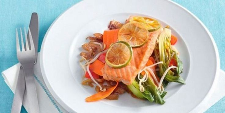 Recept: gegrilde zalm, Aziatische stijl | Men's Health