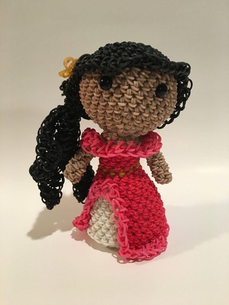 кукла из резинок амика для медицинских