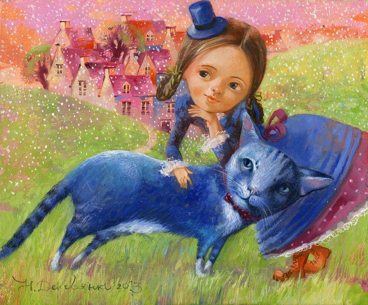 Синий кот или чудеса вокруг нас