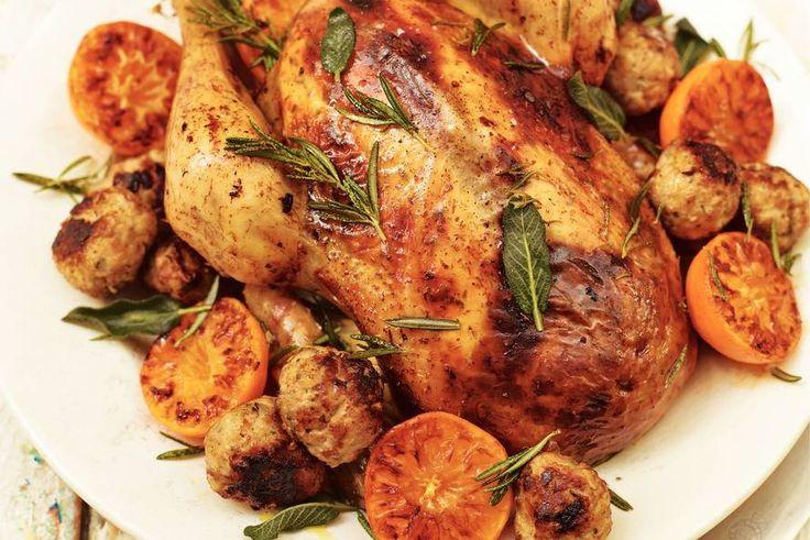 Kijk wat een lekker recept ik heb gevonden op Allerhande! Klassieke vulling (voor kip)
