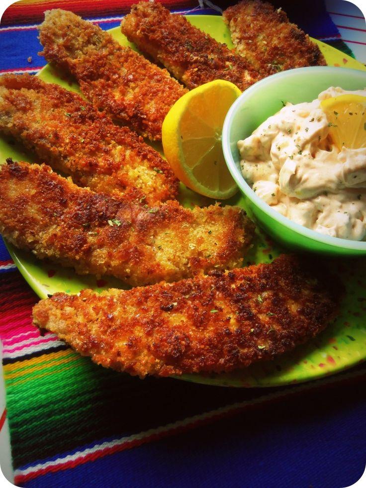 Panko Crusted Tilapia With Chipotle Kissed Tartar Sauce – Hispanic Kitchen