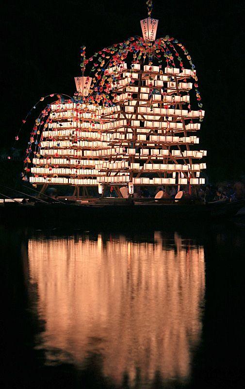 Float Ship Festival in Saitama, Japan: photo by Takero KAWABATA