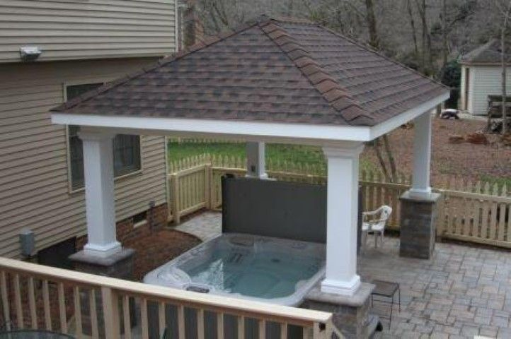 Keep your hot tub out of the elements by covering it with ...