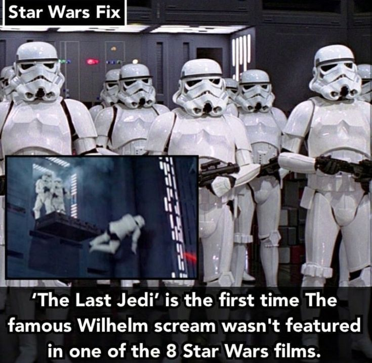 Wait, so it was in EVERY one except TLJ?  I'll have to rewatch some of the movies to be sure.