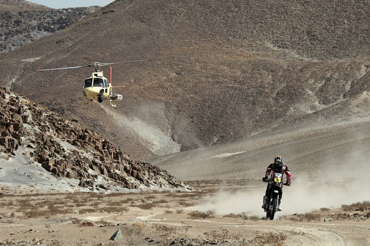 Barreda at the Dakar 2013