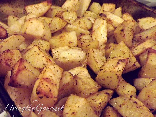 Easy!! Oven Fried Potatoes!!! recipe - Foodista.com