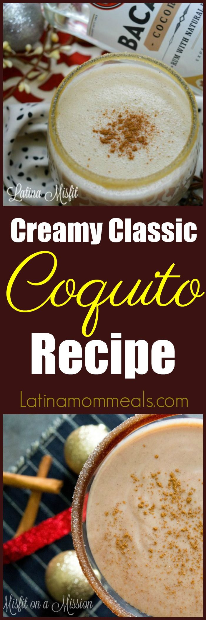 Looking for a new drink to serve this holiday for your party? Look no further Coquito, a creamy Puerto Rican coconut drink is your secret weapon.