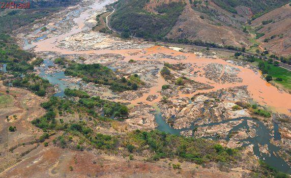Além do Rio Doce, águas subterrâneas da bacia também estão contaminadas, diz estudo