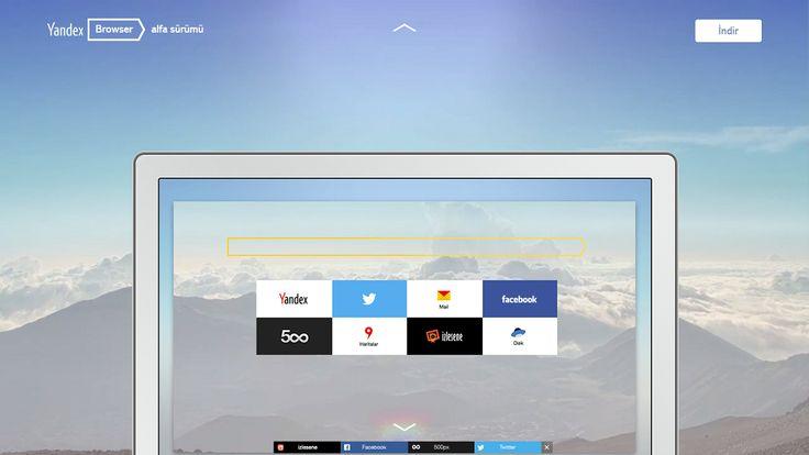 Yandex.Browser Alfa Sürümü Yayımda!