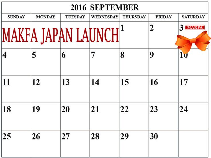 Sep 3rd 2016, MAKFA will be launched in Japan supermarket!! A wide variety of healthy Pasta , Grains & Cereals !!