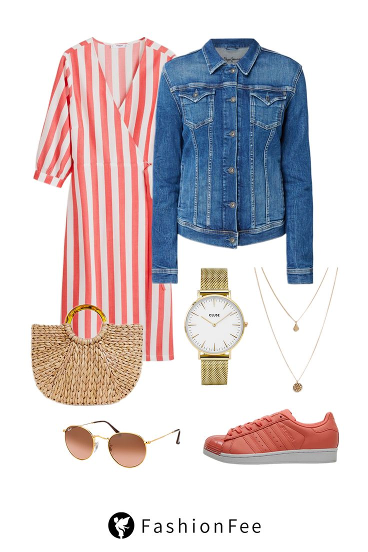 Shop the Look: Frühlingsoutfit in Living Coral