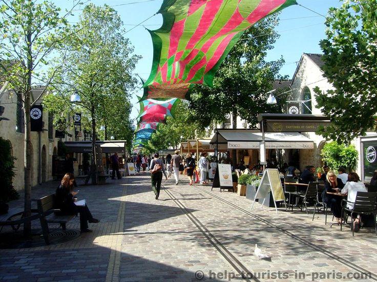Bercy Village in Paris