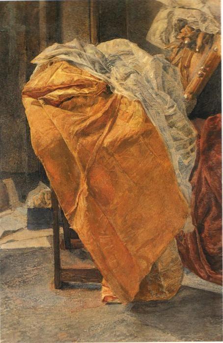 Still life. Fabrics. - Mikhail Vrubel