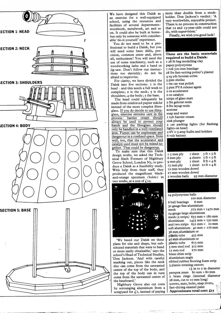 Build a Dalek pg 1