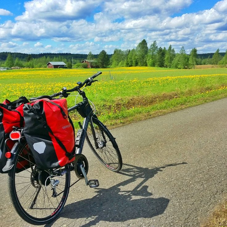 Instagram snapshots: Laurel Robbins cycles the Iron Curtain trail in Finland