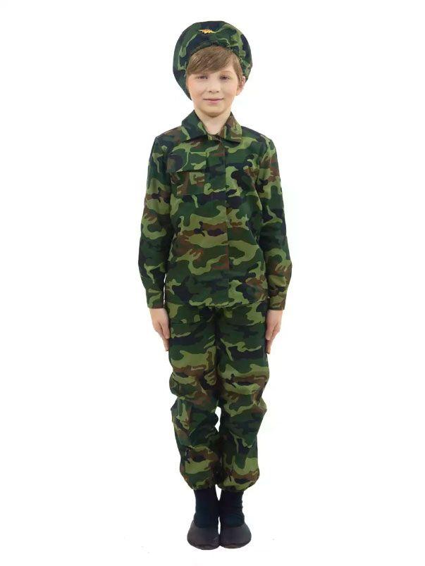 Детский камуфляжный костюм Пограничник