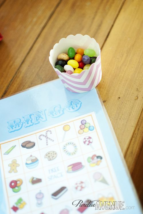 Candy Bingo Card Printables
