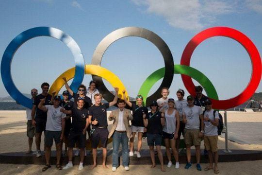 L'histoire de la voile aux Jeux Olympiques